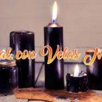 hechizo con velas negras
